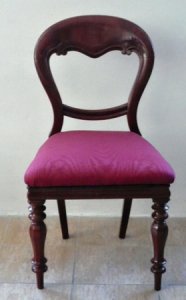 Židle anglického typu