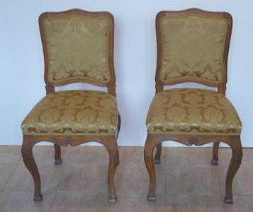 Židle barokního typu