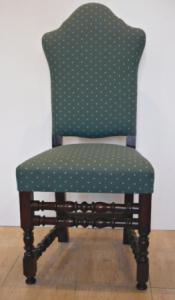Židle v raně barokním stylu