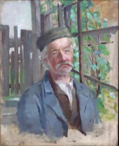 Muž v čapce