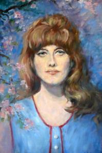 Dívka v květech