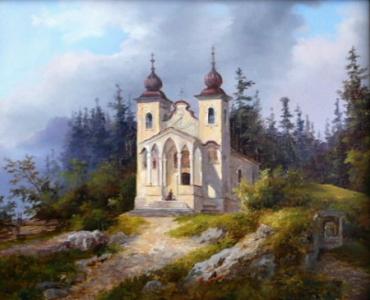 Poutní kostelíček či kaplička
