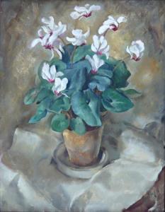Bramboříky v květináči