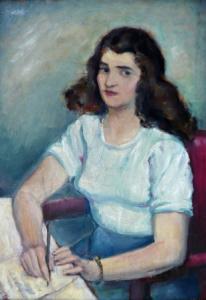 Žena u psacího stolu