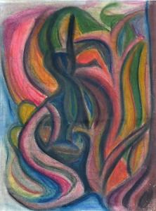 Abstrakce nebo medijní kresba
