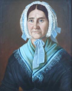 Portrét ženy s čepcem