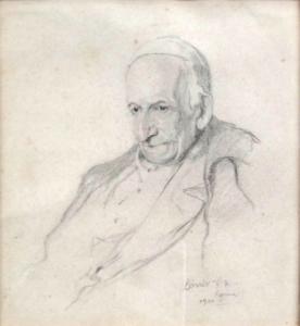 Podobizna papeže Lva XIII.