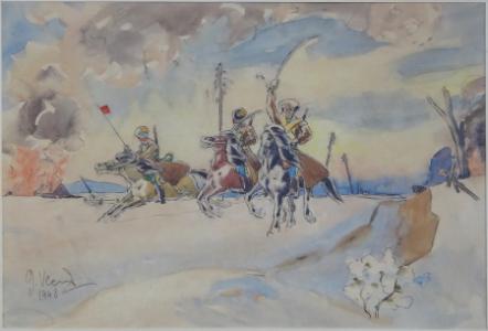 Kozáci na koních