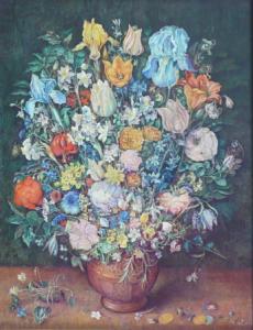 Jan Brueghel - Květinové zátiší , kopie
