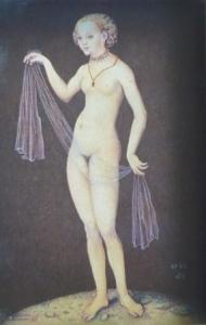 Lucas Cranach starší - Venuše , kopie