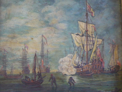 Willem van de Velde mladší - Přístav , kopie