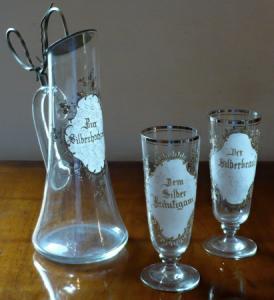 Jubilejní džbán se sklenicemi