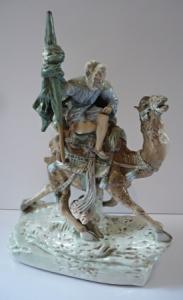 Beduín na velbloudu - Duchcov,Dux
