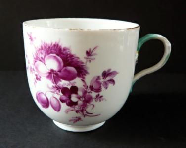 Šapo s purpurovými květy - Míšeň