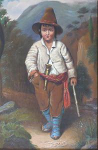 Vincenz ( Čeněk ) Melka - Balkánský chlapec (2).JPG