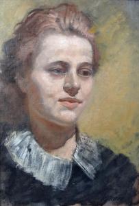 Jaroslav Kutman - Portrét dívky (2).JPG