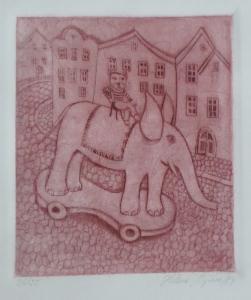Helena Ryšavá - Kocour na slonu (2).JPG
