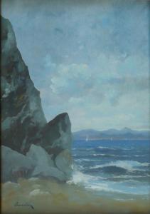 František Ondrušek - Skalisko u moře (2).JPG