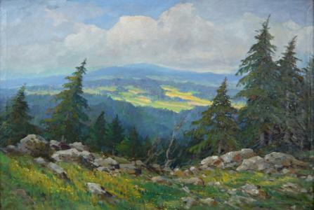 Josef Svoboda - Podhorská krajina (2).JPG