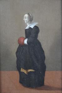 Žena se štulcem dle holandské předlohy (2).JPG