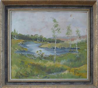 Sedláček - Břízky u rybníka (1).JPG