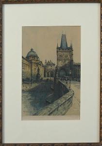 Alois Ježek - Křižovnické náměstí v Praze (1).JPG