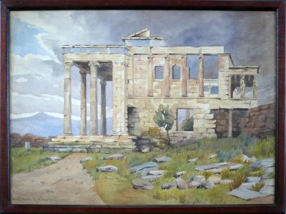 Pavla Fořtová - Athény , Erechtheion (1).JPG