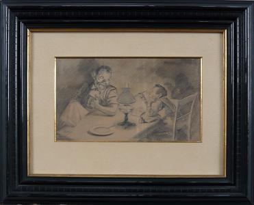 Vlach - Otec se synem u stolu (1).JPG