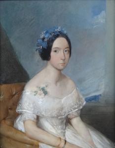 Portrét dívky v křesle - Biedermeier (5).JPG