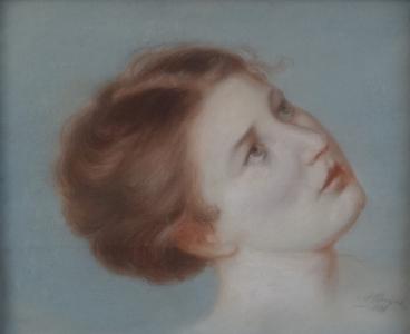 Alois Porges - Portrét dívčí hlavy (2).JPG