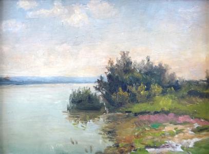 Karel Schadt - Na břehu řeky (2).JPG