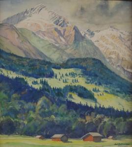 Juliette Schreiner - Alpská krajina (2).JPG
