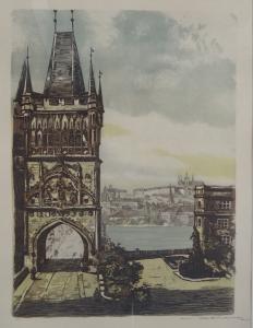 Vladislav Röhling - Staroměstská mostecká věž.JPG