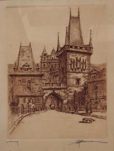 Josef Jiří Bauer - Mostecká věž (2).JPG