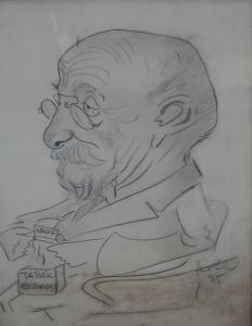Karel Kotrba - Karikatura muže s tabákem (2).JPG