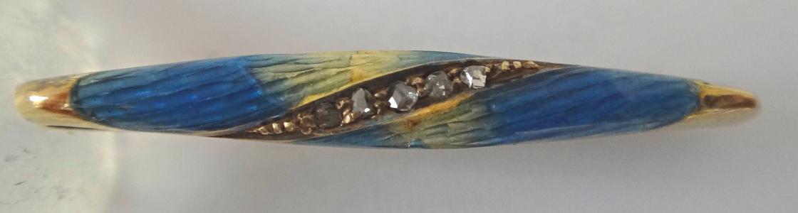Malá brož se smalty a diamanty (2).JPG