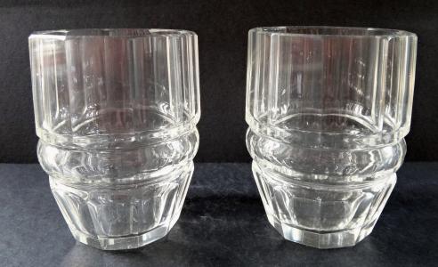Dvě čiré soudkovité skleničky (1).JPG