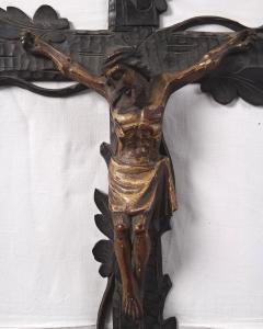 Domácí Krucifix závěsný - Řezbovaný kříž (2).JPG