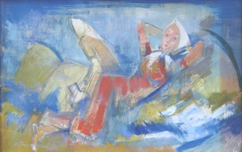Bohumil Ullrych - Dívky na poli (2).JPG