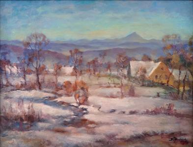 Rudolf Jindřich - Pohorská zima (2).JPG