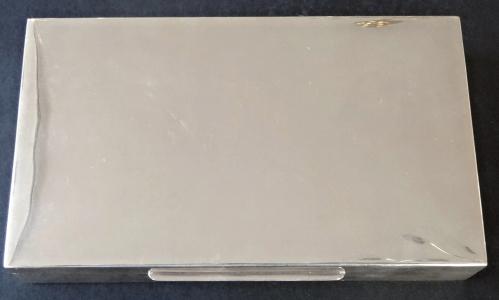 Stříbrná krabička s  dřevěným vnitřkem (1).JPG