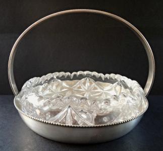 Postříbřená miska se sklem - Franz Bibus (1).JPG