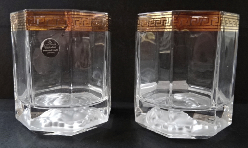 Pár skleniček Versace - Rosenthal, Bleikristall (1).JPG
