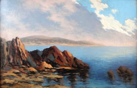 Nesignováno - Mořské pobřeží (2).JPG