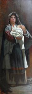 Monogram H. S. - Matka s dítětem v náručí (2).JPG