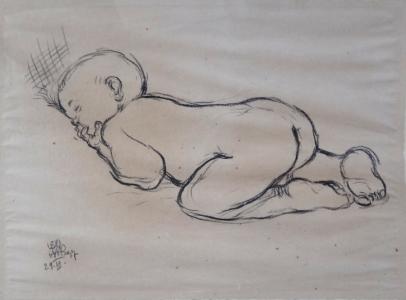 Leo Haas - Spící batole (2).JPG
