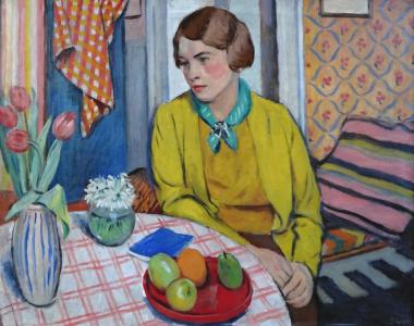 Rudolf Vejrych - Žena u stolu (2).JPG
