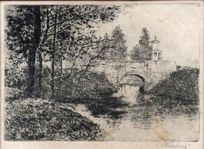 Max Švabinský - Říčka s mostem (2).JPG
