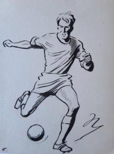 Marcel Niederle - Fotbalista s míčem (1).JPG