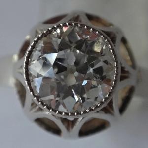 Prsten z bílého zlata - briliant 1,20 ct (1).JPG